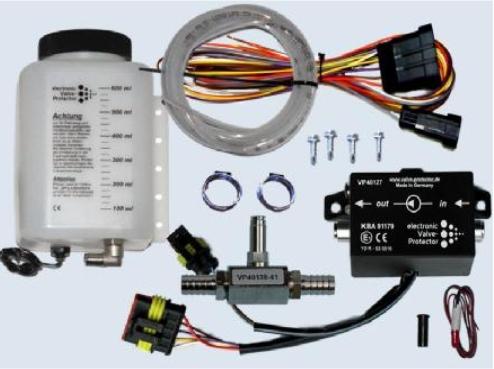 Valve protector - elektronické tlakové dávkování aditiva lpg